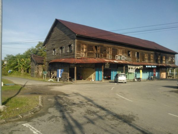 Old colonial building at Kimanis, Kimanis was once called Ellena