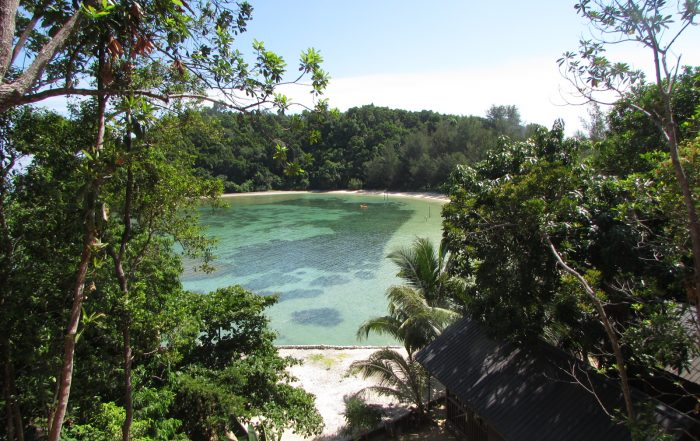 Lagoon at Dinawan Island, Beautiful Dinawan Island