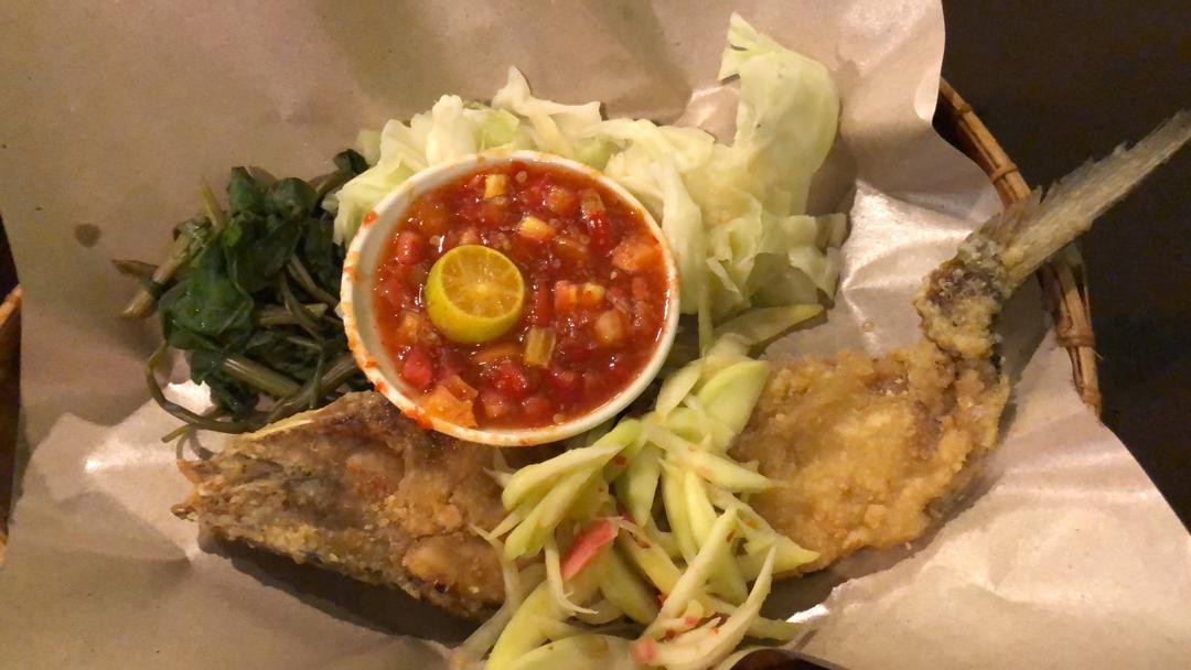 Ikan Baulu famous in Sabah