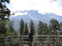 Majestic view of Mount Kinabalu