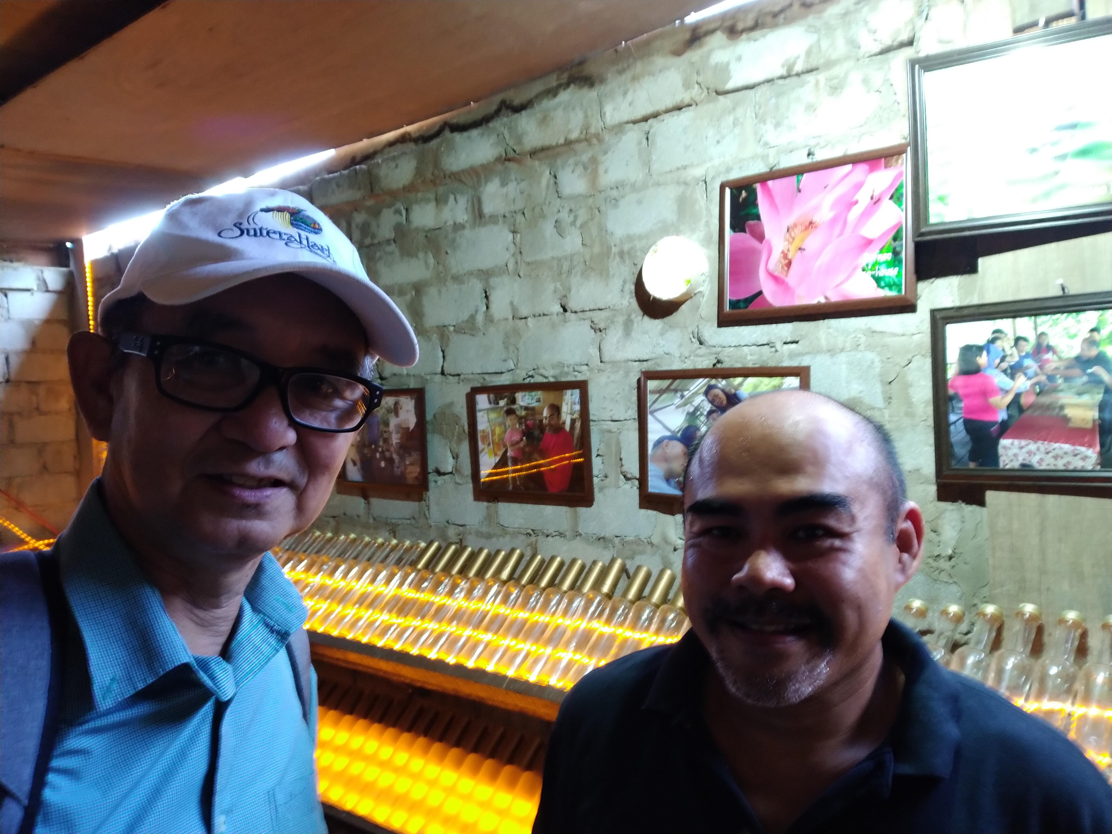 Honey cellar at Borneo Eco-House