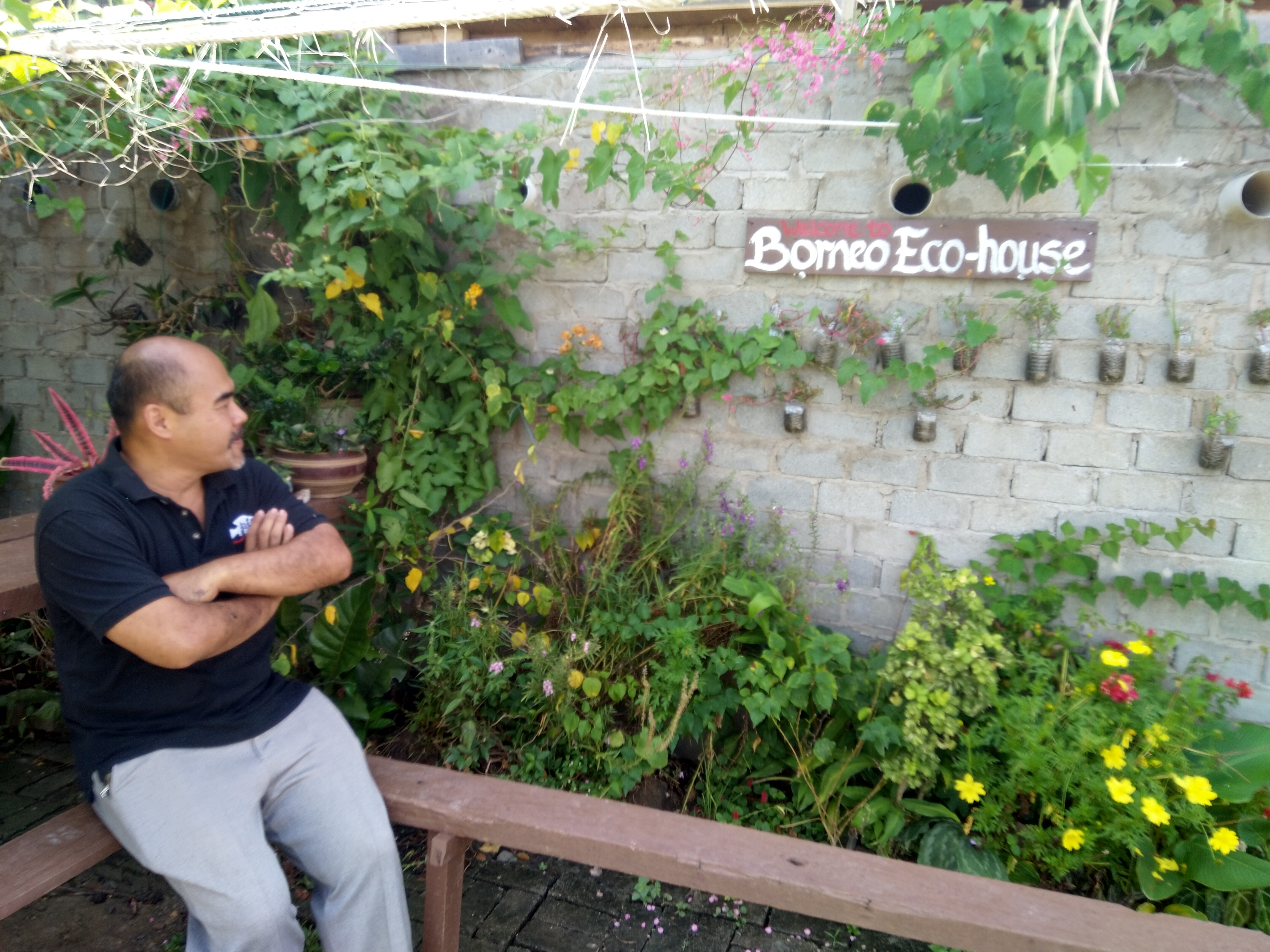 Jeffrey Soo garden at Borneo Eco House